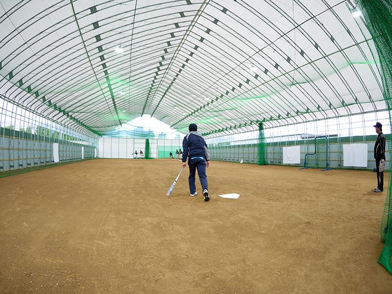 野球練習風景